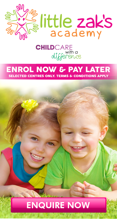 Enrol Now, Pay Later.
